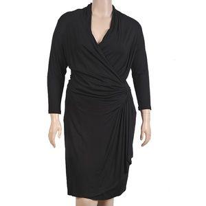 Karen Kane Cascade Wrap Dress